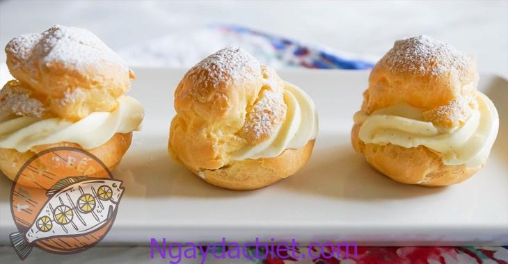 Hướng dẫn làm bánh su kem su kem đơn giản với lò nướng