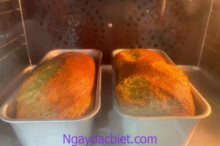 Bánh nướng ở nhiệt độ 170 độ C