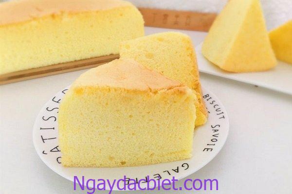 Bánh bông lan được nướng bằng nồi chiên không dầu có hương vị hoàn hảo, thơm ngon