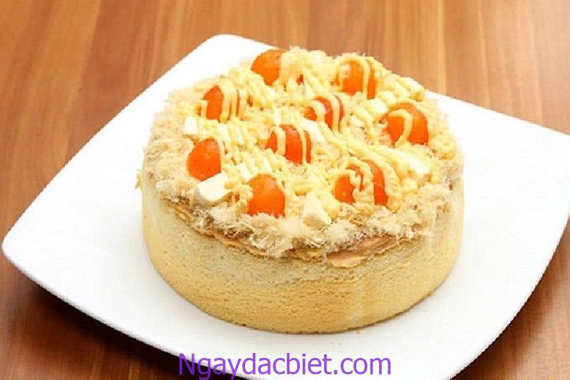 Bánh bông lan trứng muối bằng lò nướng mang đến hương vị thơm ngon, tuyệt vời