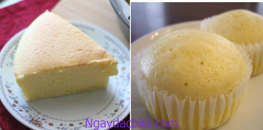 Bánh bông lan hấp cách thủy là một trong những cách làm bánh đơn giản có thể thực hiện tại nhà